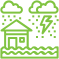 flood insurance icon